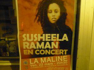 Susheeela Raman - La Maline - 22 mars