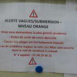 Lendemain d'alerte orange