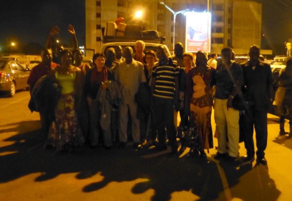 Ouagadougou - Accueil des Amis d'Arbollé - 9 février 2014