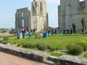 Danse sans l'abbaye des Châteliers