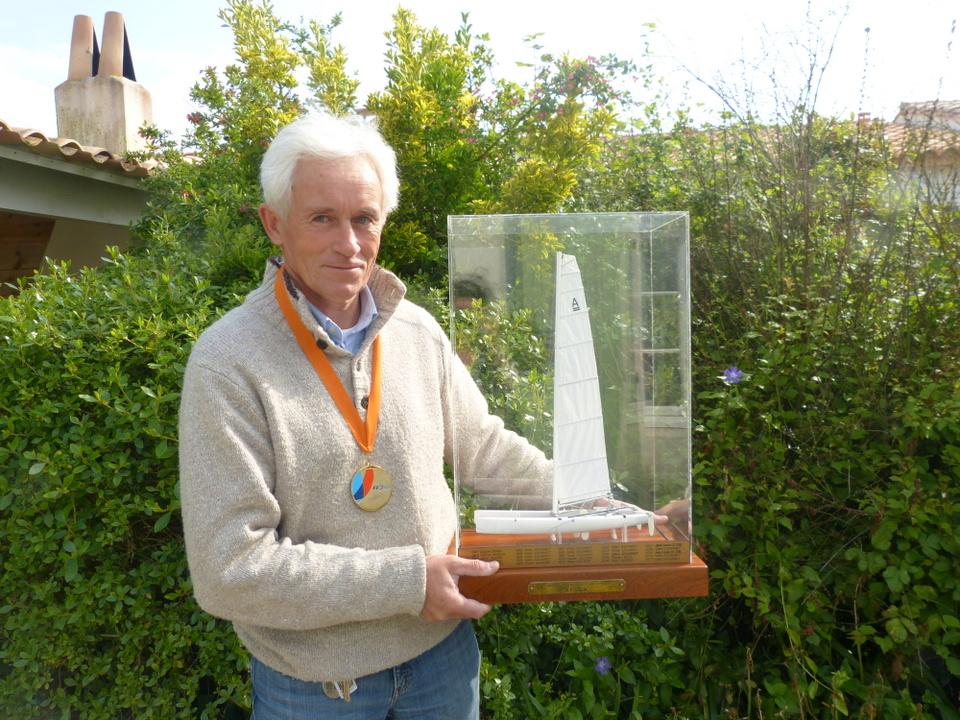 Hervé Ledue, Champion de France, Catamaran Class A.