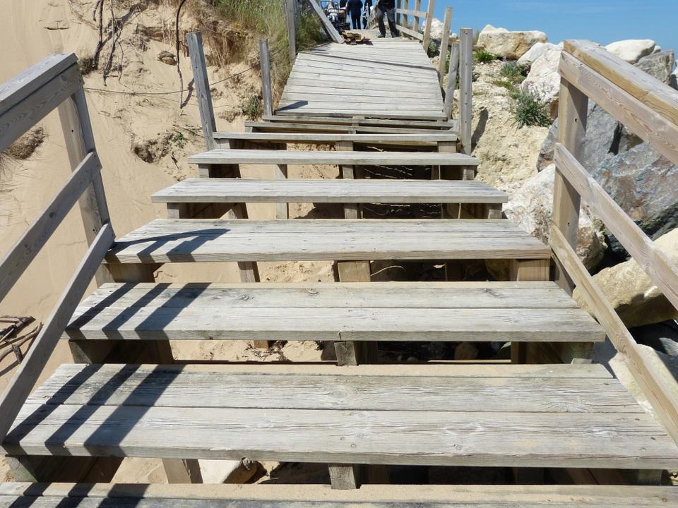 Escalier Pas de Zanuck