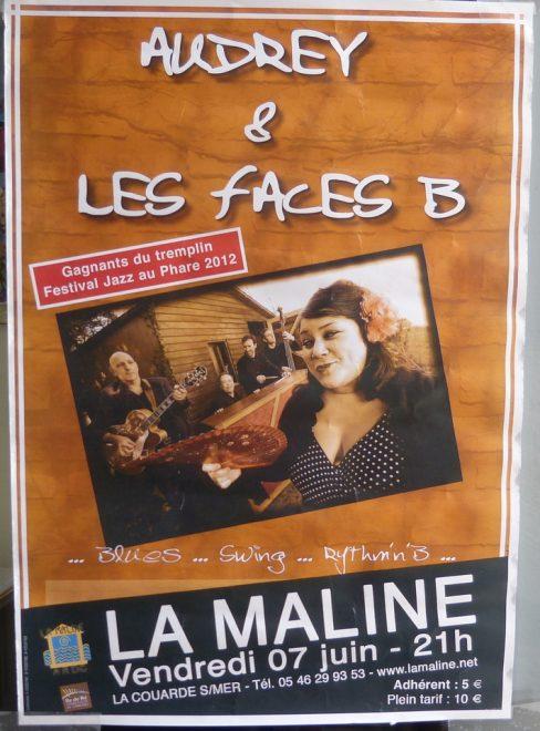 La Maline - Audrey et les Faces B