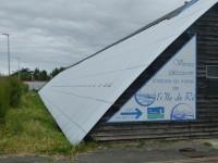 Coopérative de sel - Nouvelle toiture