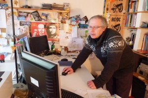 Richard Adaridi dans son bureau