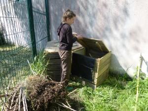 Composteur du jardin des Ecoles - Ars-en-Ré