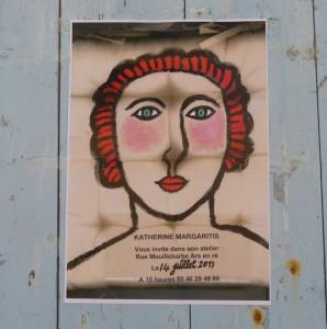 Katherine Margaritis, affiche 2013