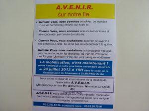 AVENIR - Affichette