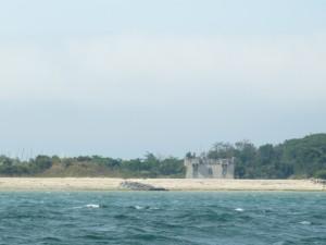 Loix - Fort du Grouin - Vu de la mer