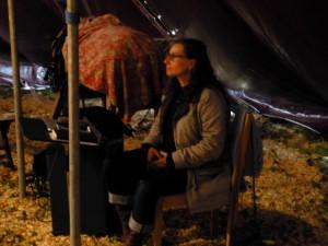 Chixa Bigarnet  en répétition de Tactus Partition équestre