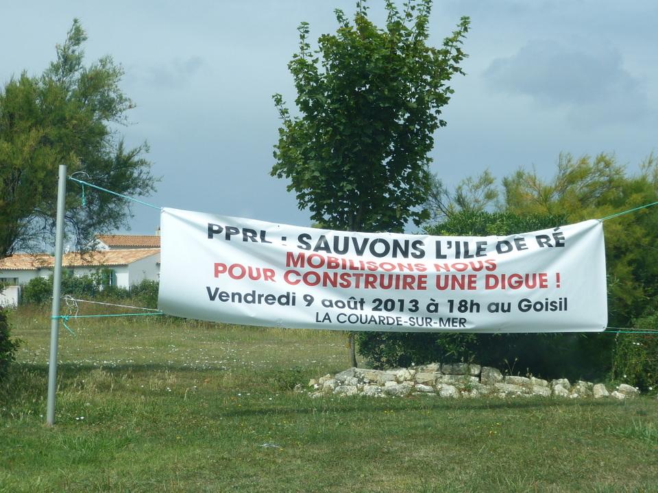 Digue du Goisil - La Couarde-sur-Mer