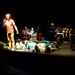 Ribambelle de jeunes artistes à la Maline