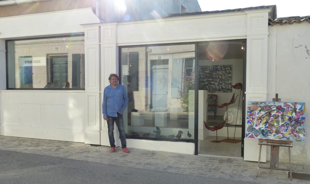 Bernard Frigière -  le Lieu bis, rue du Havre, Ars-en-Ré