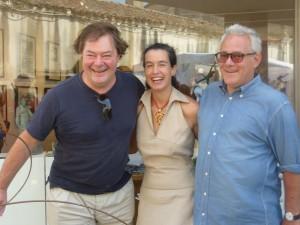 Georges Oxley, Diana Ubarrechena, Stéphane Schein