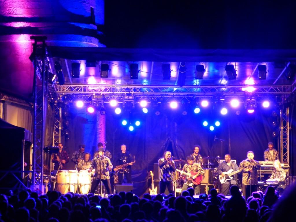 Jazz au Phare Ile de Ré - Earth Wind & Fire - 18 août 2014