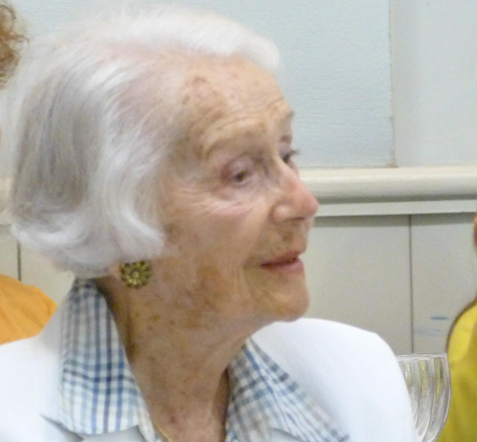 Gisèle Casadesus - Ars en Ré - 21 août 2014