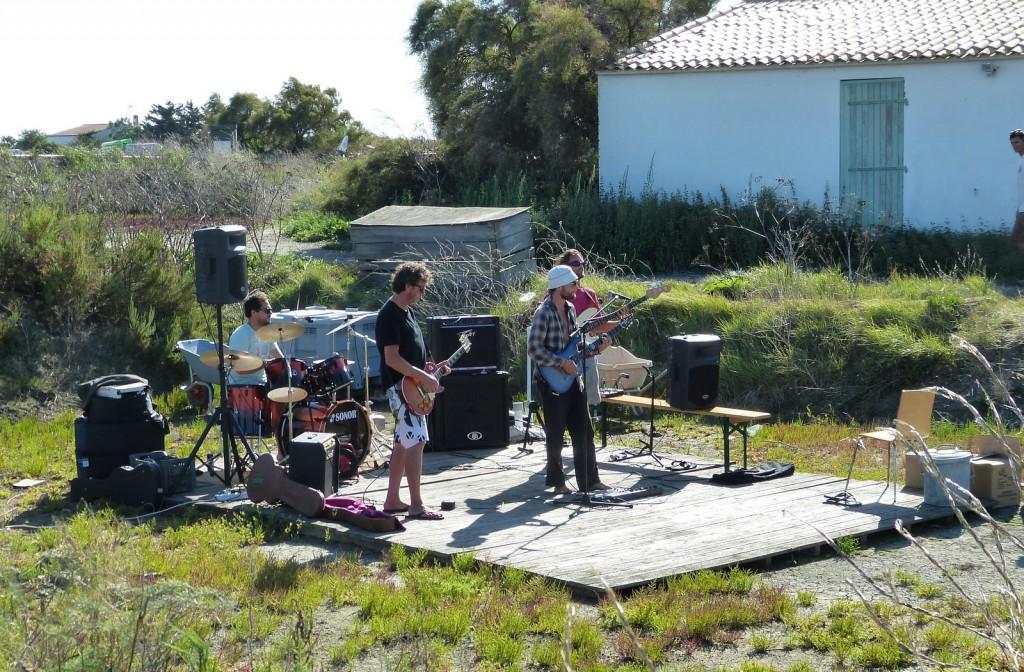 Les Pieds Vaseux - Groupe de musique de l'île de Ré