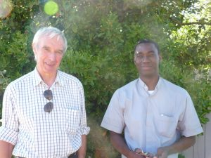 René Chaussin et Roger Kologo