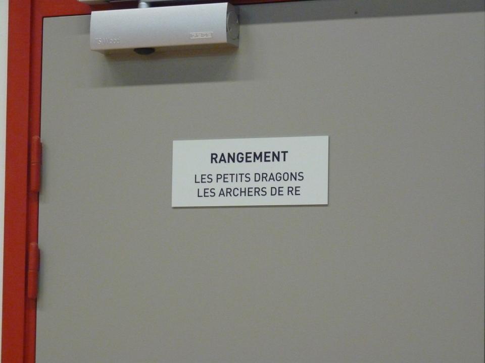 Vestiaires salle des sports de Saint-Martin-de-Ré