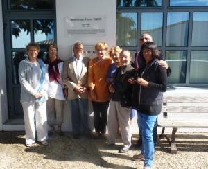 Les Portes-en-Ré - Inauguration de la bibliothèque Pierre Tardy
