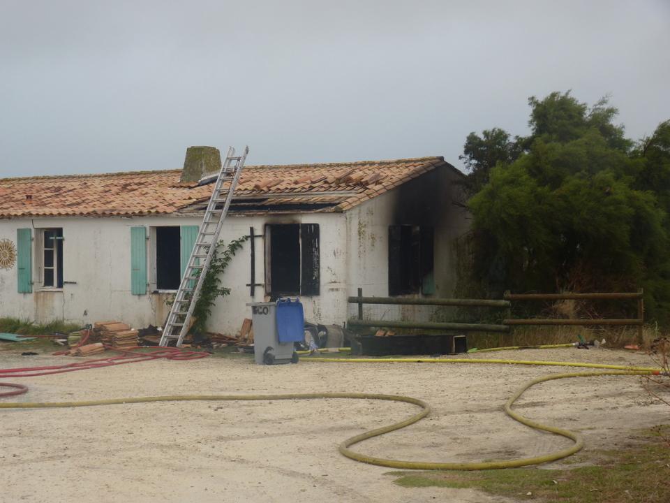 17 septembre - Incendie à l'Ecomusée