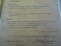 Traité d'alliance Saint-Martin de Ré et Espérance