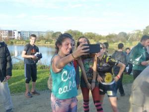 Jeunes Réaises au cross solidaire Brukin'Action 17
