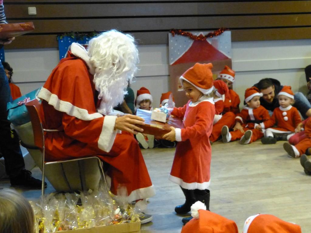 Père Noël à Loix - 20 décembre 2014