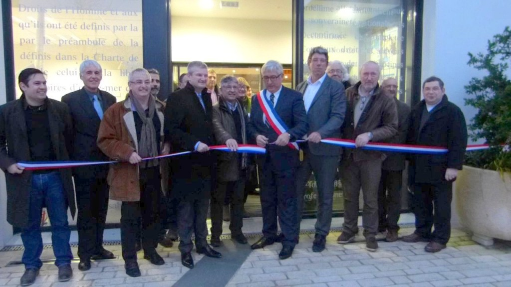 La Couarde - Inauguration mairie - 9 janvier 2015