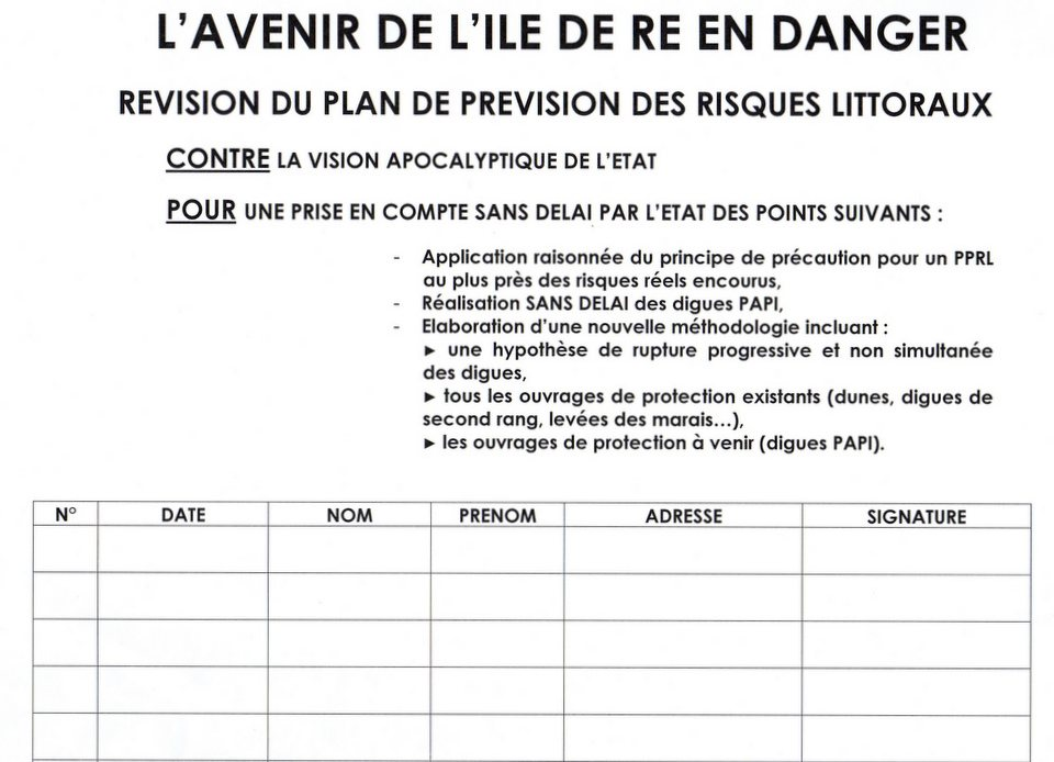 Registre de signatures