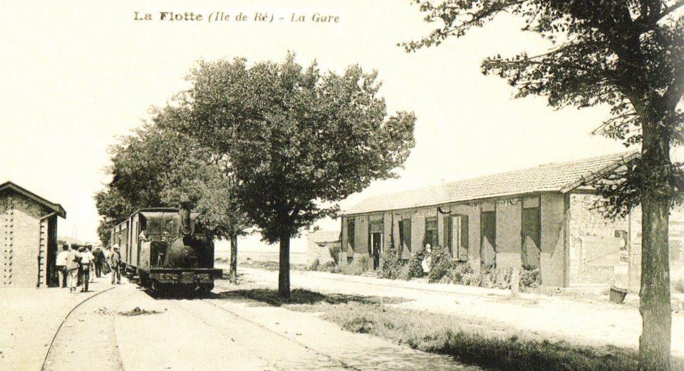 La Flotte - Petit train de l'île de Ré