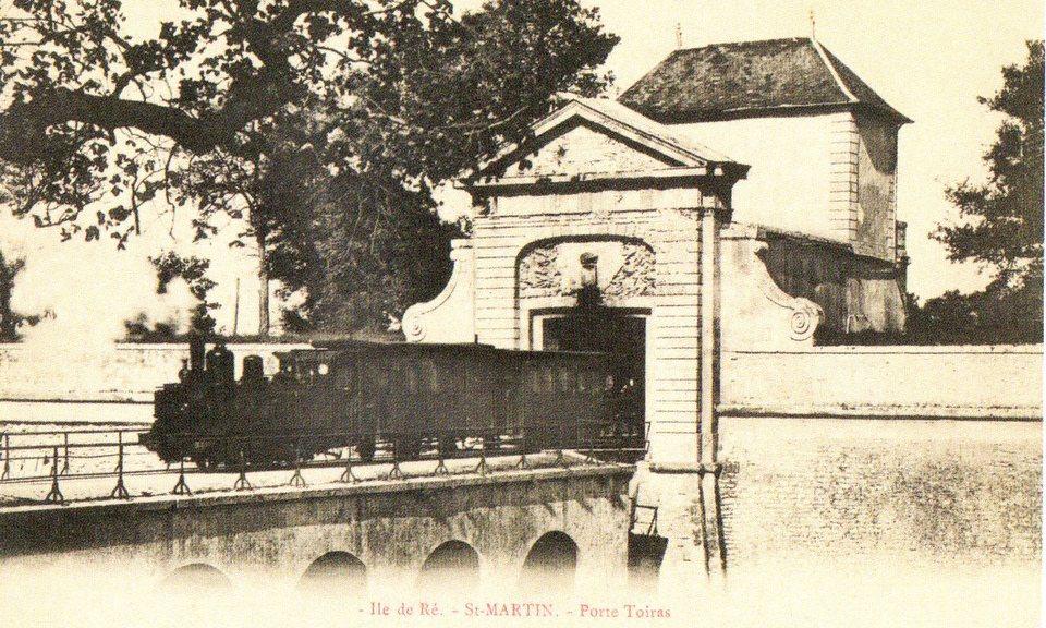 Saint-Martin - Petit train de l'île de Ré
